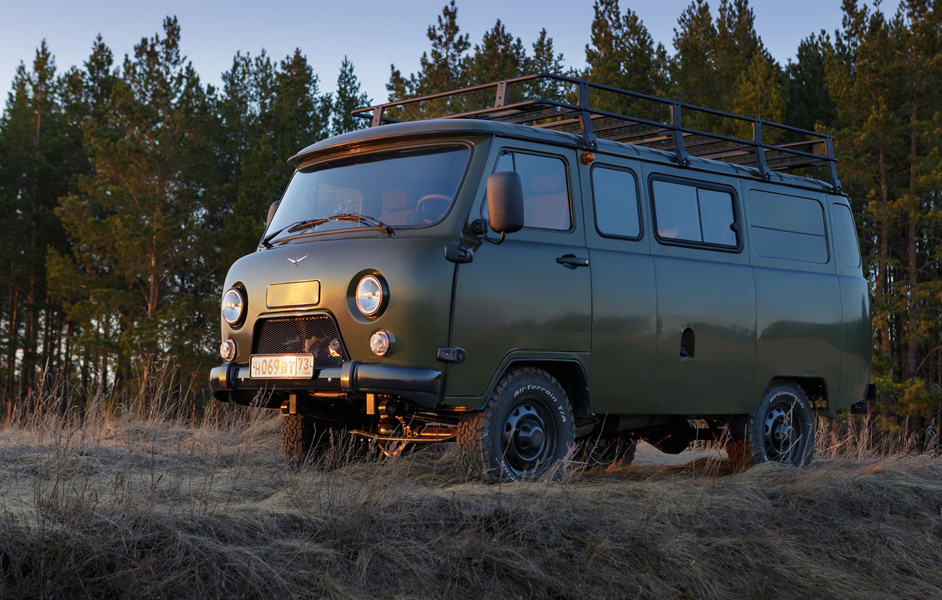 Однообъёмный кузов - УАЗ Буханка